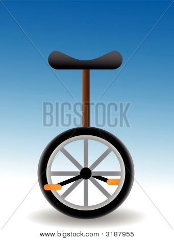 Unicycle - Vector