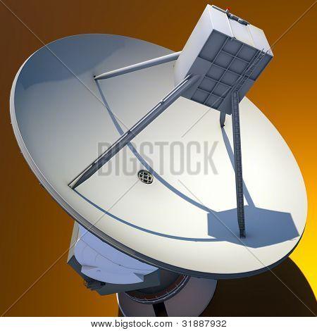 Large Array satellite dish antenna