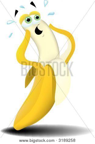 Scared Banana