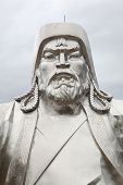 stock photo of bator  - Chingiis Khaan Mongolian Emperor - JPG