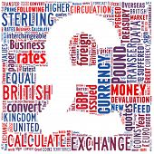 picture of british pound sterling note  - Pound Sterling Currency Symbol - JPG
