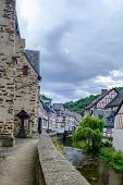 The Beautiful And Picturesque Village Of Monreal In Eifel Region, Germany poster