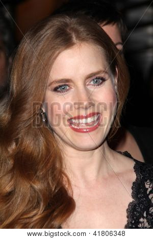 LOS ANGELES - FEB 4:  Amy Adams arrives at the Hollywood Reporter Celebrates the 85th Academy Awards Nominees event at the Spago on February 4, 2013 in Beverly Hills, CA
