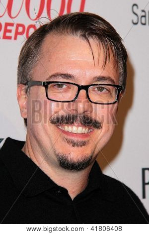 LOS ANGELES - FEB 4:  Vince Gilligan arrives at the Hollywood Reporter Celebrates the 85th Academy Awards Nominees event at the Spago on February 4, 2013 in Beverly Hills, CA