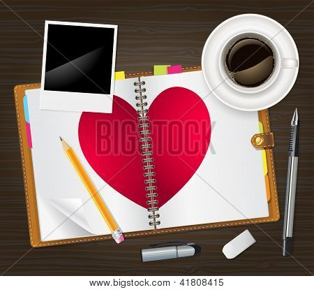 Open Diary With A Heart