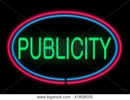 Publicity Concept.