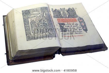 Opened Slavic Ancient Book 1
