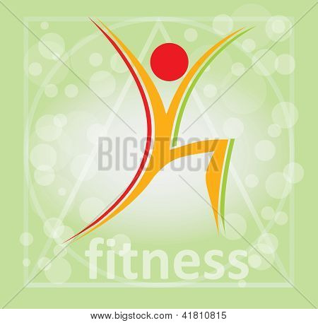 Fitness, Aerobic Symbol
