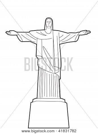 Christ the Reedemer statue Rio de Janeiro, Brazil