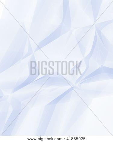 Branco enrugado papel