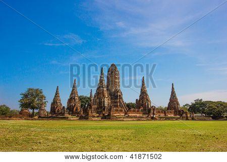 Wat Chaiwatthanaram  Temple of Ayutthaya Historical, Thailand