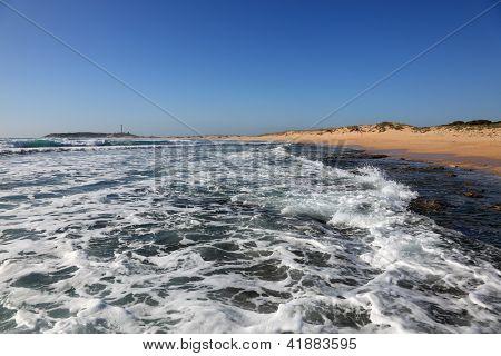 Atlantic Ocean Beach In Spain