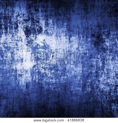 Blue grunge background