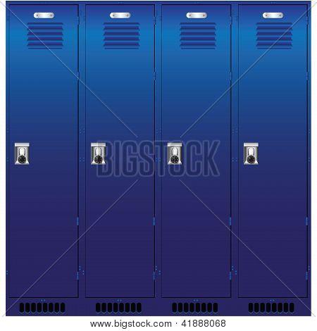 Set Of The Lockers