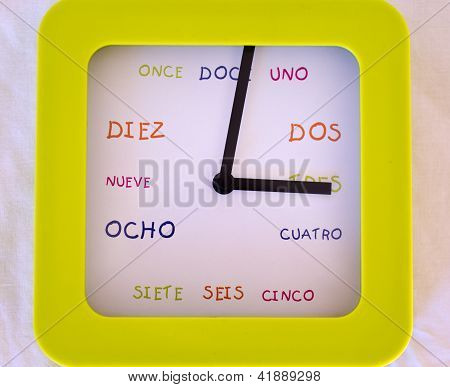 Spanish Clock