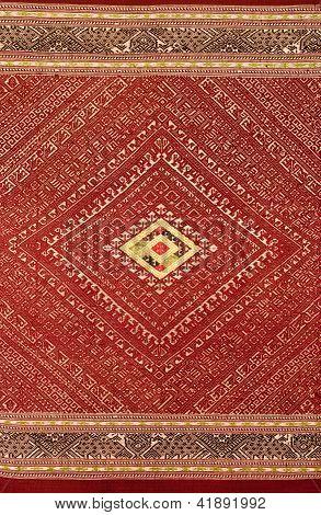 Padrão de tecidos tailandeses