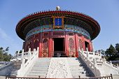stock photo of taoism  - the ancient temple of heaven in beijing - JPG
