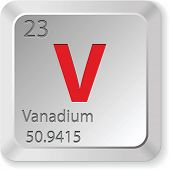 image of vanadium  - vanadium element - JPG
