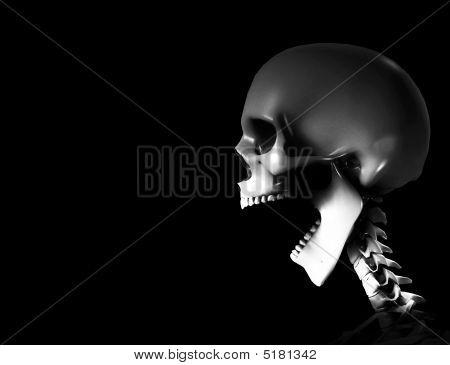 Shouting Skeleton
