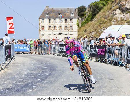 The Cyclist Roberto Ferrari