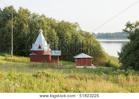 Wooden chapel Florus and Laurus