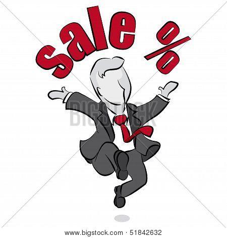 Salesman And Sale