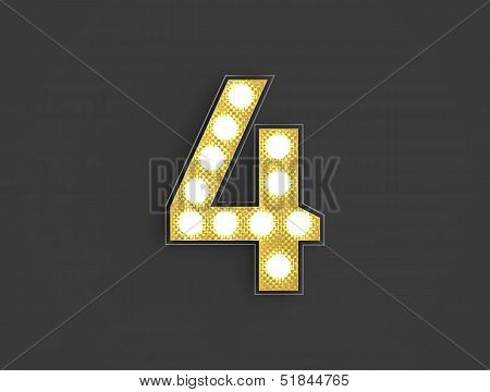 Light Vintage Number Four
