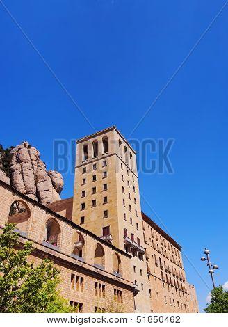 Monastery In Montserrat, Spain