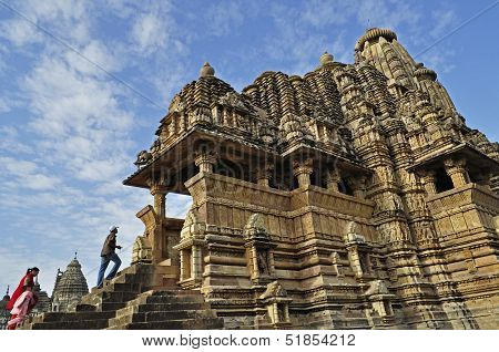 Vishvanatha Temple, Dedicated To Lord Shiva, Western Temples Of Khajuraho, Khajuraho, Madhya Pradesh