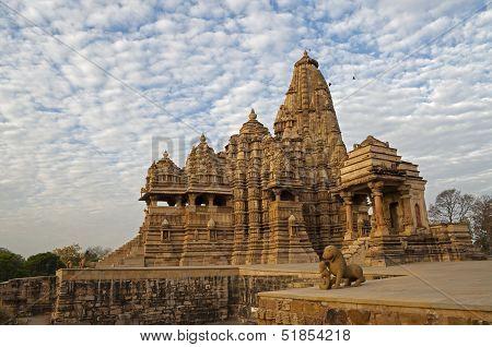 Kandariya Mahadeva Temple, Dedicated To Shiva, Western Temples Of Khajuraho, Madya Pradesh, India