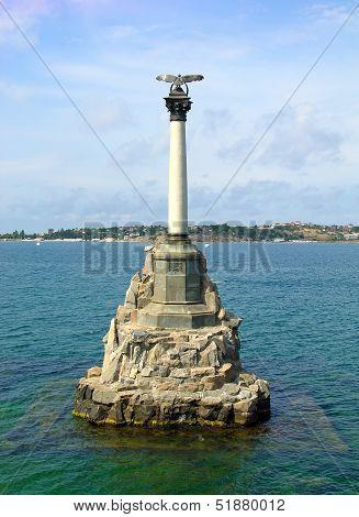 Monument To Sunken Ships, Sevastopol, Ukraine