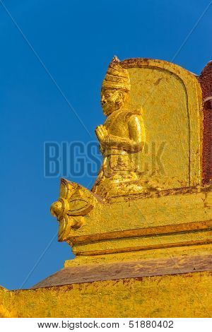 The Shwezigon Pagoda decoration detail