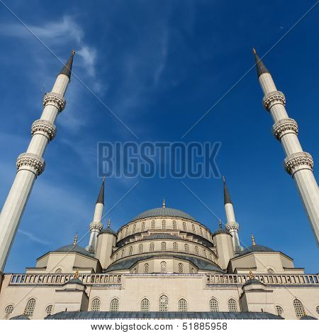 Kocatepe Mosque In Ankara Turkey