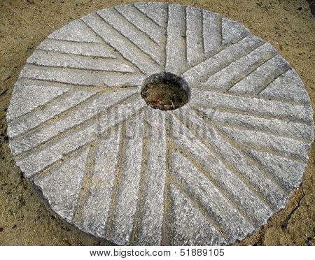 An Ancient Millstone