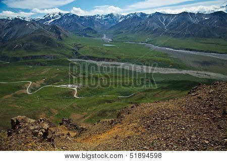 Above Eielson
