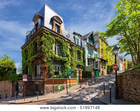 Charming Streets Of Paris