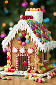 stock photo of gingerbread house  - Gingerbread house  - JPG