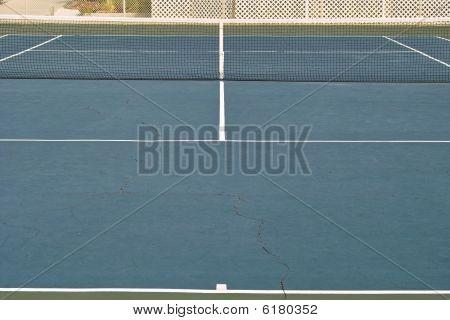 Full Tennis Court