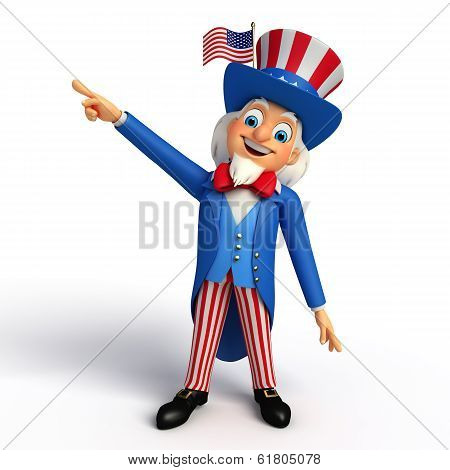 Illustration of Uncle Sam