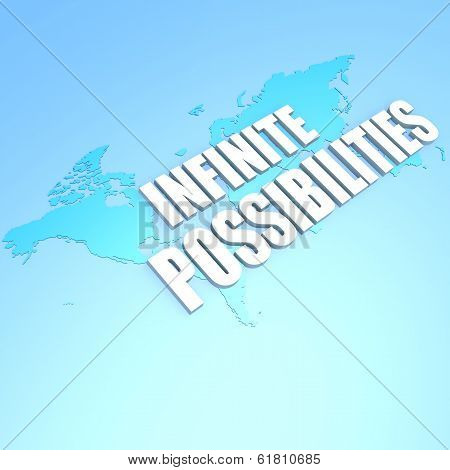 Infinite Possibilities World Map