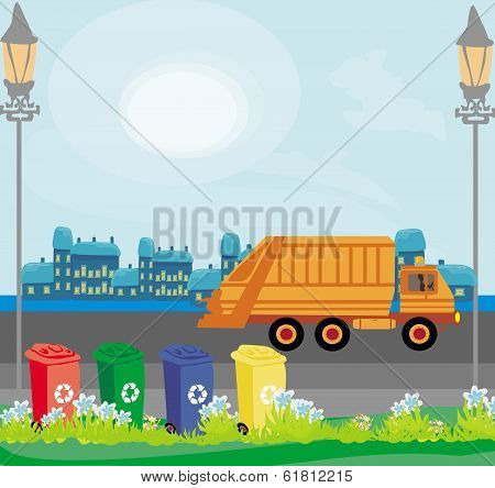 Segregation Of Garbage In The City