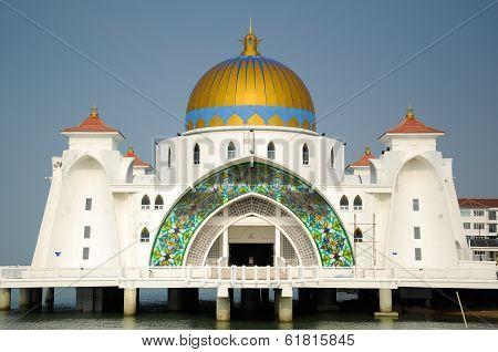 Malacca Straits Mosque (Masjid Selat Melaka)