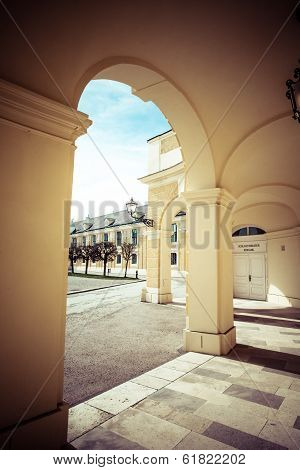 Vienna, Austria - June 17: Schonbrunn Palace On March, 20, 2014 In Vienna, Austria. It Was A Royal R