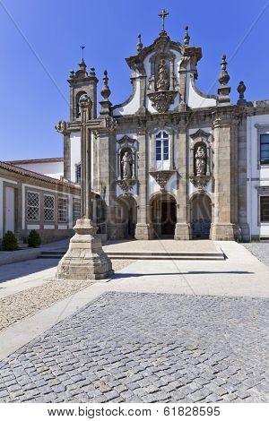 Santo Antonio dos Capuchos Convent in Guimaraes, Portugal. Unesco World Heritage Site.