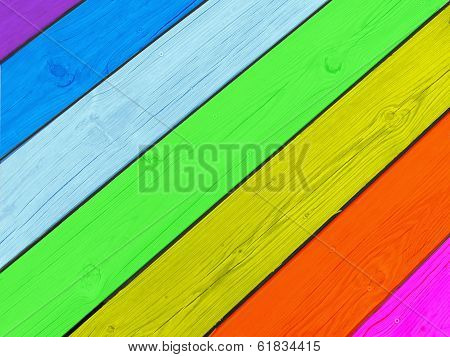 colorful boardwalk