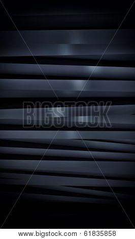 Abstract black panels