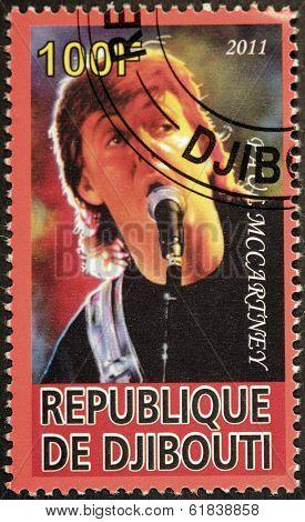 Paul Mccartney Stamp