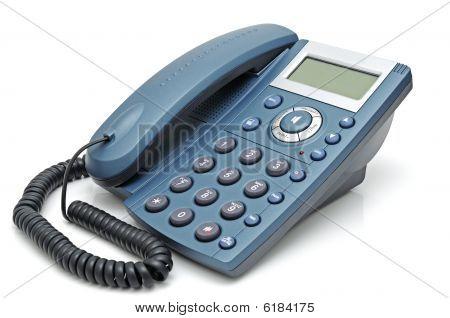 Telephone With Liquid-crystal Display