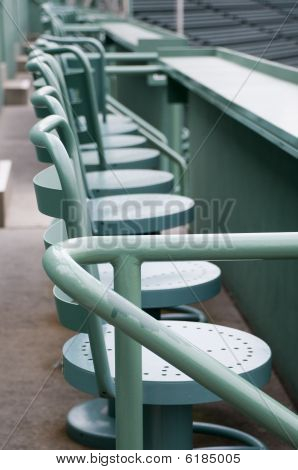 Seats at Fenway Park