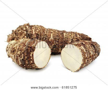 taro roots